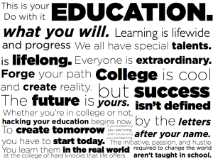 education wordle